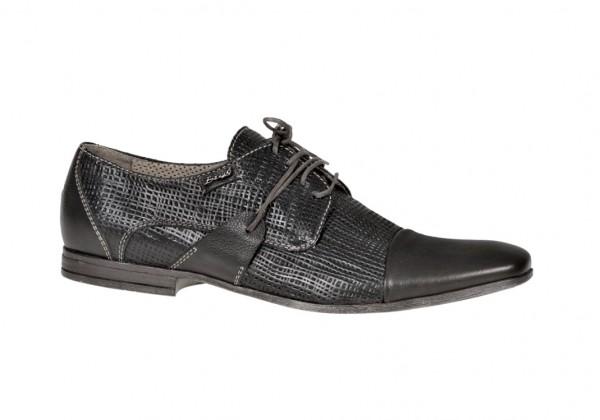 Bello Carezza Nero Schuhe in schwarz D320