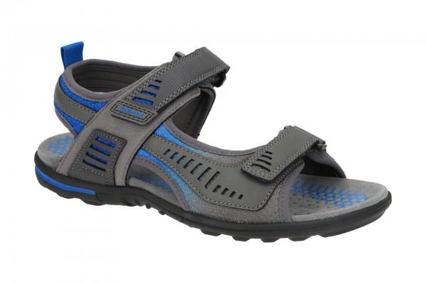 Geox Tevere Herren Sandale grau blau U029CC