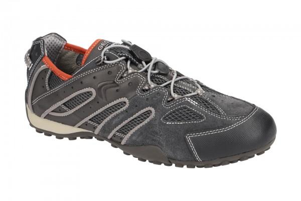 Geox Snake Sneaker Schuhe grau U4207J