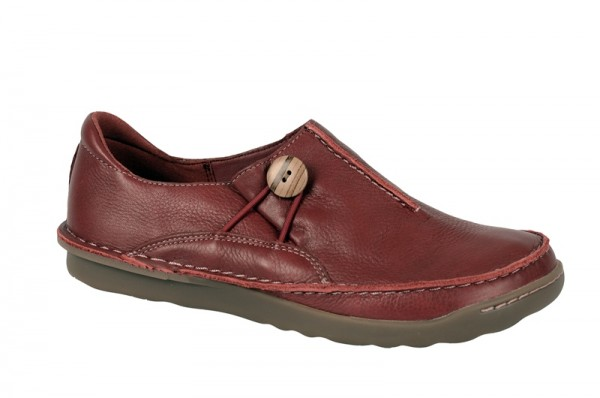 Clarks Faze Girl in rot Damen Slipper 20351543