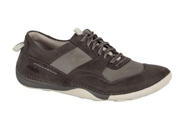Clarks Martock Form Schuhe grau kahki