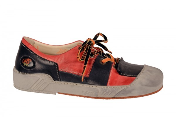 Eject Puzzle Schuhe schwarz rot - 11996.11