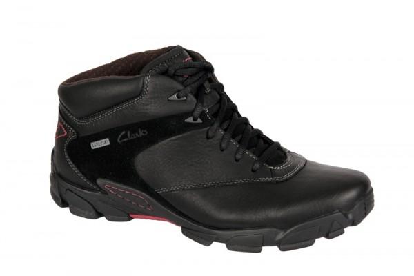 Clarks Raid Task GTX schwarz Boots Textilfutter