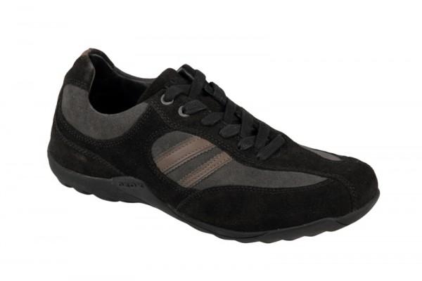 Geox Compass U Schuhe schwarz grau Sneakers
