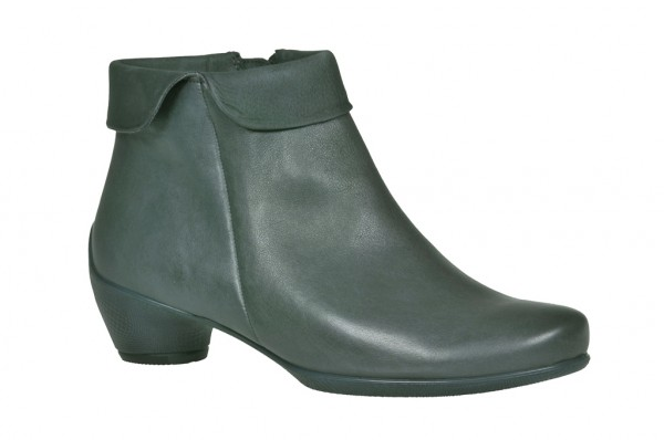 Ecco Sculptured Stiefelette blau