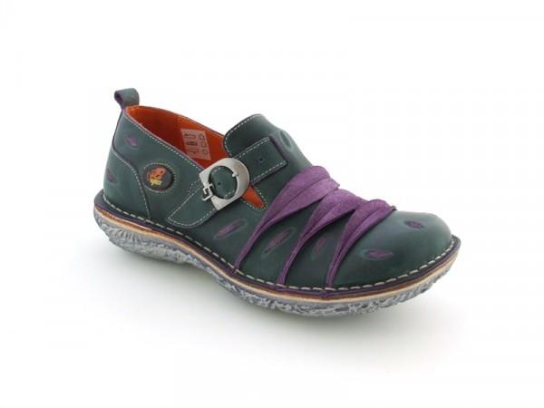 Eject Dunas E-11181 Schuhe dunkelgrün lila