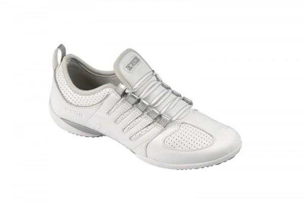 Geox Euphoria - Damen Sneakers - weiß silber - D0108F