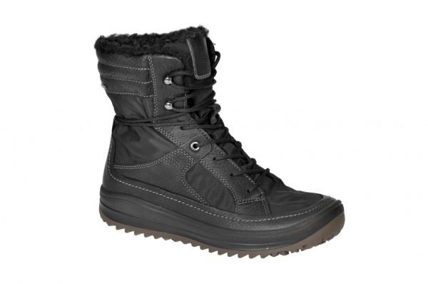 Ecco Trace Stiefel in schwarz Warmfutter Gore-Tex