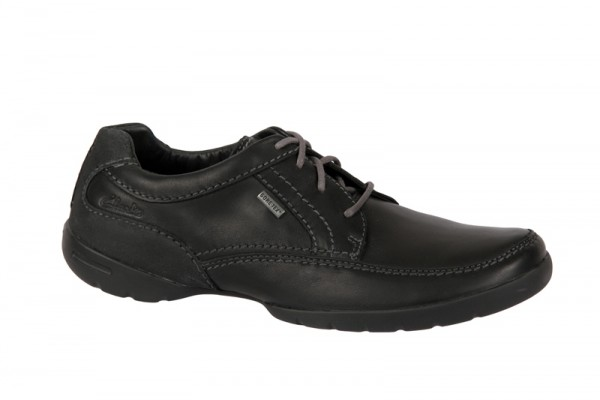 Clarks Ramblas Way GTX Schuhe Gore-Tex schwarz