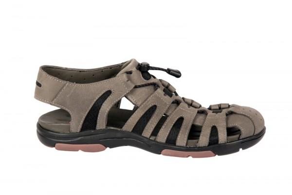 Clarks Un Dock grau Herren Sandaletten