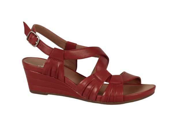 Clarks Keil Sandale Prize Club in rot 20354433