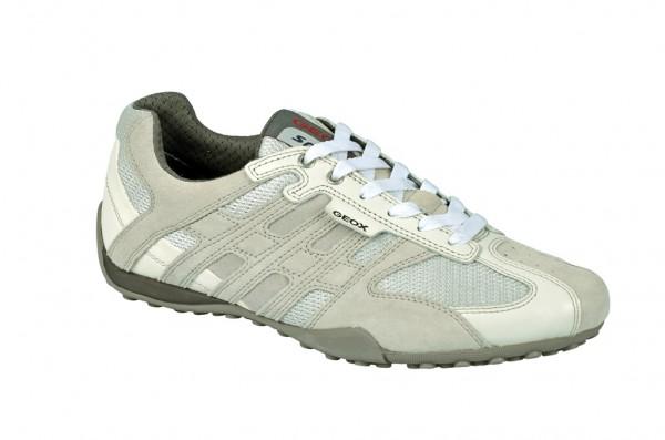 Geox Snake M Schuhe weiß Sneakers U1107M