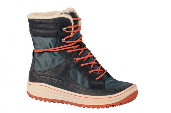 Ecco Trace Stiefel blau Gore-Tex