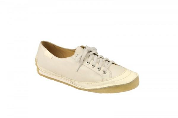 Clarks Street Party Schuhe weiß mit Kreppsohle 20323778