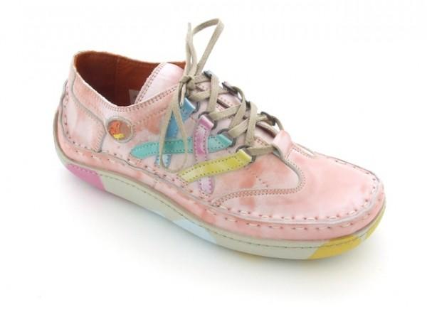 Eject Nr 1 Schuhe E-7565 rosa weiß schattiert