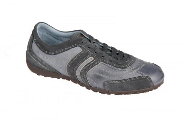 Geox Respira Bis in jeans blau Herren Sneaker