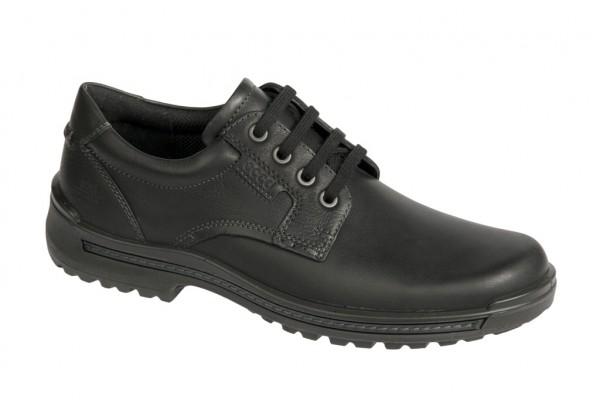 Ecco Iron Schuhe schwarz Herren Halbschuhe