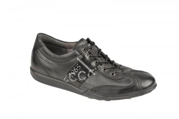Ecco Urban Light Schuhe schwarz Herren Schnürer
