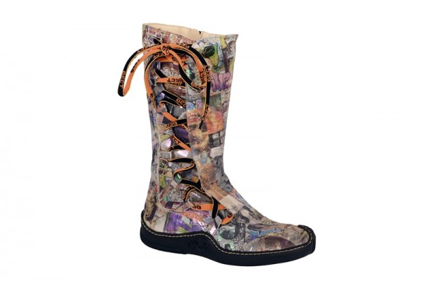 Eject Skat Stiefel print Muster 15055