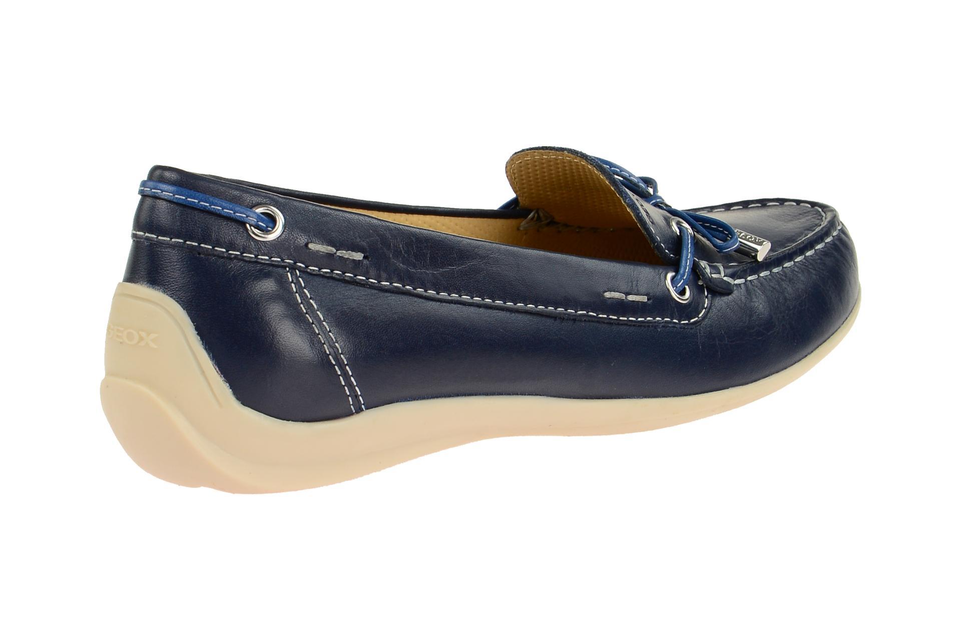 Geox Schuhe YUKI blau Damenschuhe bequeme Slipper D6455A 00085 C4005 NEU | eBay