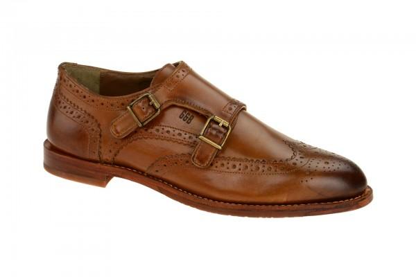 Gordon Bros Double-Monk Schuhe Crockett braun S160477