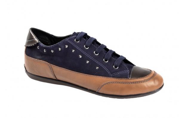 Geox New Moena Schuhe in hellbraun blau