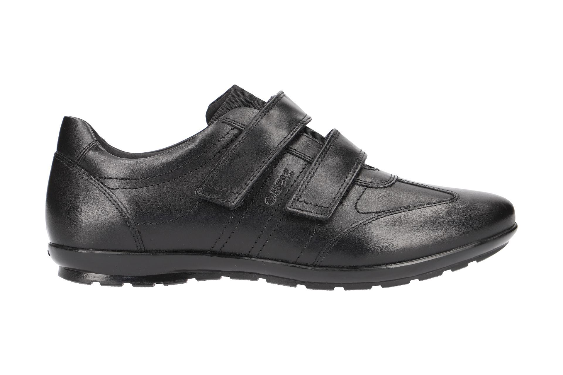 Geox Schuhe SYMBOL schwarz Herrenschuhe elegante Slipper U74A5D 00043 C9999 NEU
