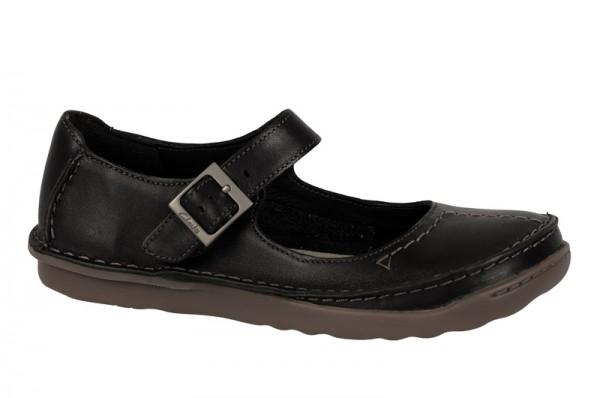 Clarks Faze Fever Schuhe in schwarz Slipper 20350155