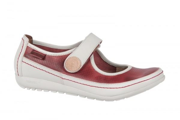 Pikolinos Lisboa Schuhe rot weiß Slipper 767-848LA
