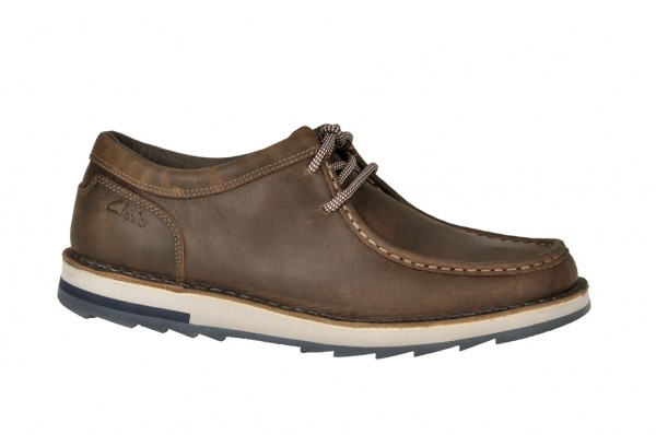 Clarks Mumford Key Schuhe in tabacco dunkelbraun
