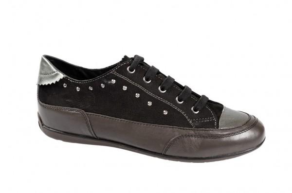 Geox New Moena Schuhe in schwarz dunkelgrau