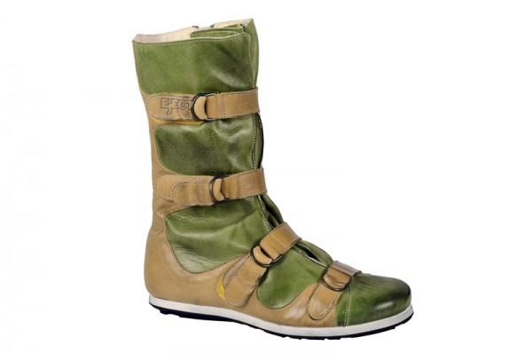 Eject Confort Stiefel grün gelb 15095.1