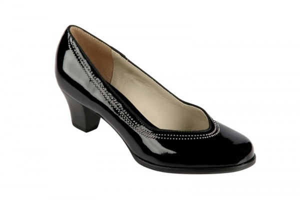 Clarks Ask Bombay Pumps in schwarz Lack 20341736