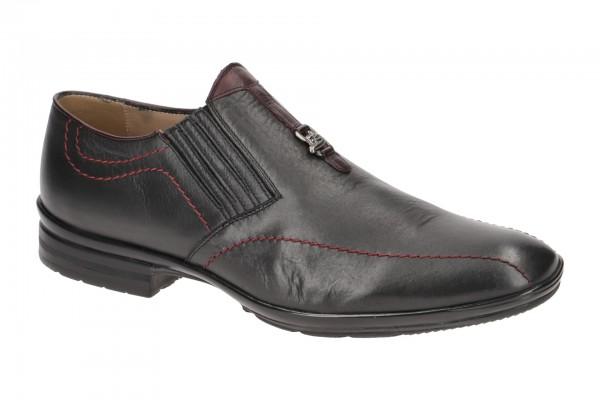 Bello Schuhe Slippers dunkelgrau BL551