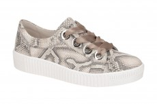 Gabor Schuhe grau Snake Sneakers 330 43.330.30