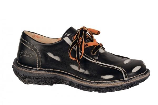 Eject Dunas Schuhe in schwarz weiß E-15049