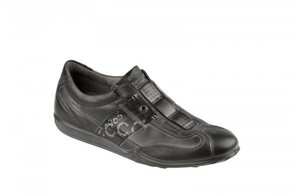 Ecco Urban Light Slipper schwarz Herrenschuhe
