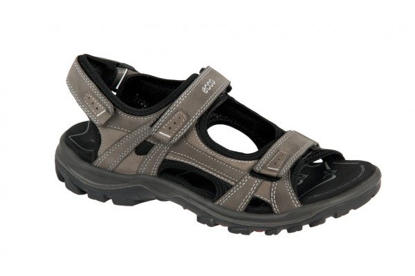Ecco Offroad Lite Sandale in warm grey grau