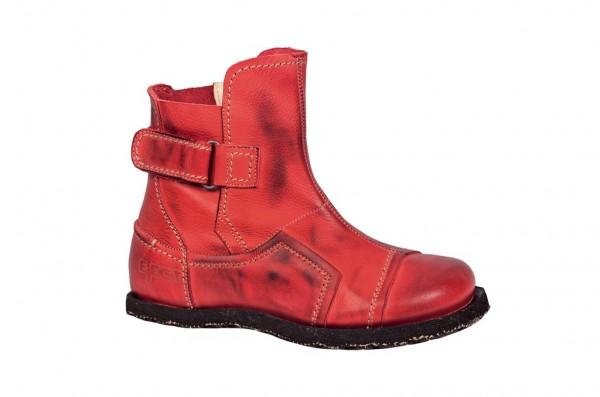 Eject Street Stiefelette in rot mit Lederfutter E-15751.1