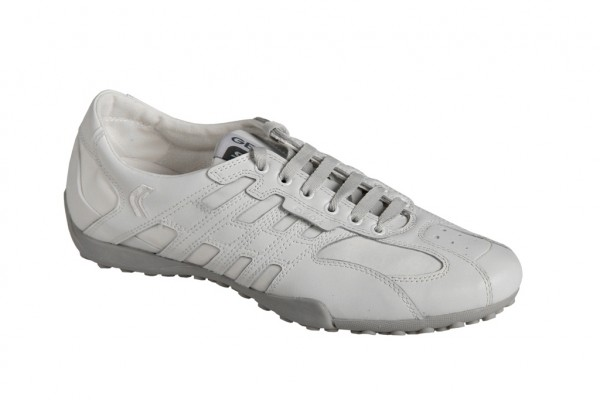 Geox Respira Schuhe Snake L weiß Sneakers