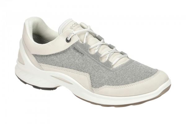 Ecco Biom Fjuel Schuhe beige grau Sportschuhe