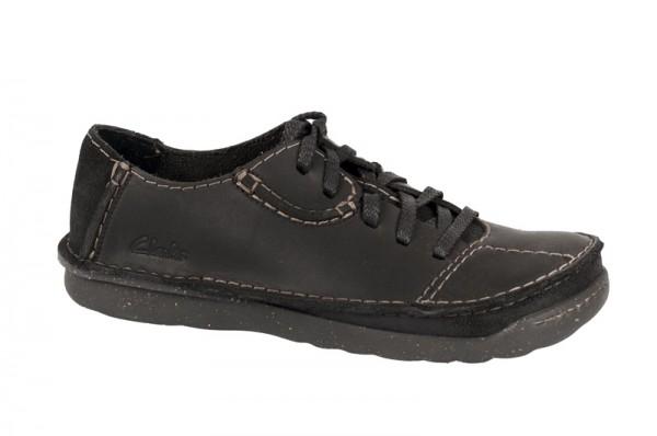 Clarks Mantal Flow Schuhe in schwarz 20346686