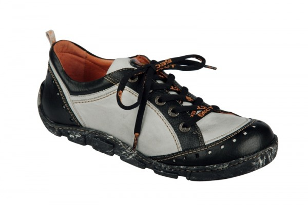 Eject Flight E-11046 Schuhe schwarz weiß