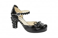 Tiggers Wave Pumps - schwarz - Lackleder