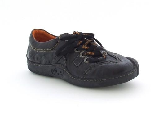 Eject Skat Schuhe in schwarz E-10007