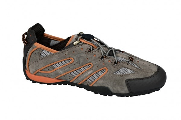 Geox Snake B Schuhe in taupe orange Slipper U1107B