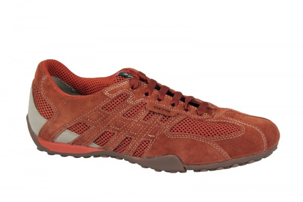Geox Snake W Schuhe orange Sneakers