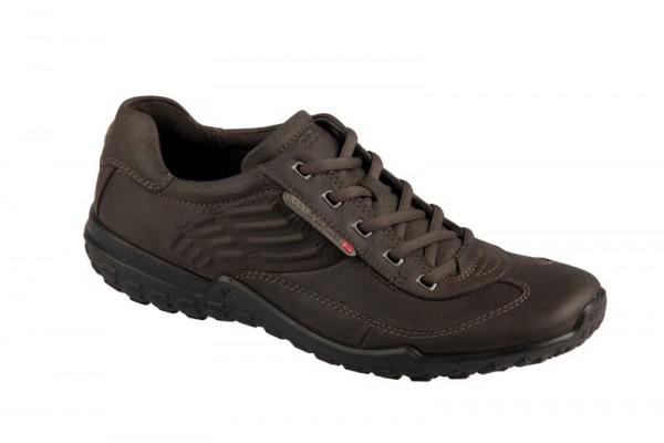 Ecco Terrano Schuhe dunkelbraun Herren Schnürer