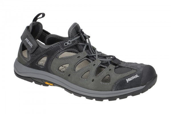 Meindl Hawaii Sandale schwarz grau 3389