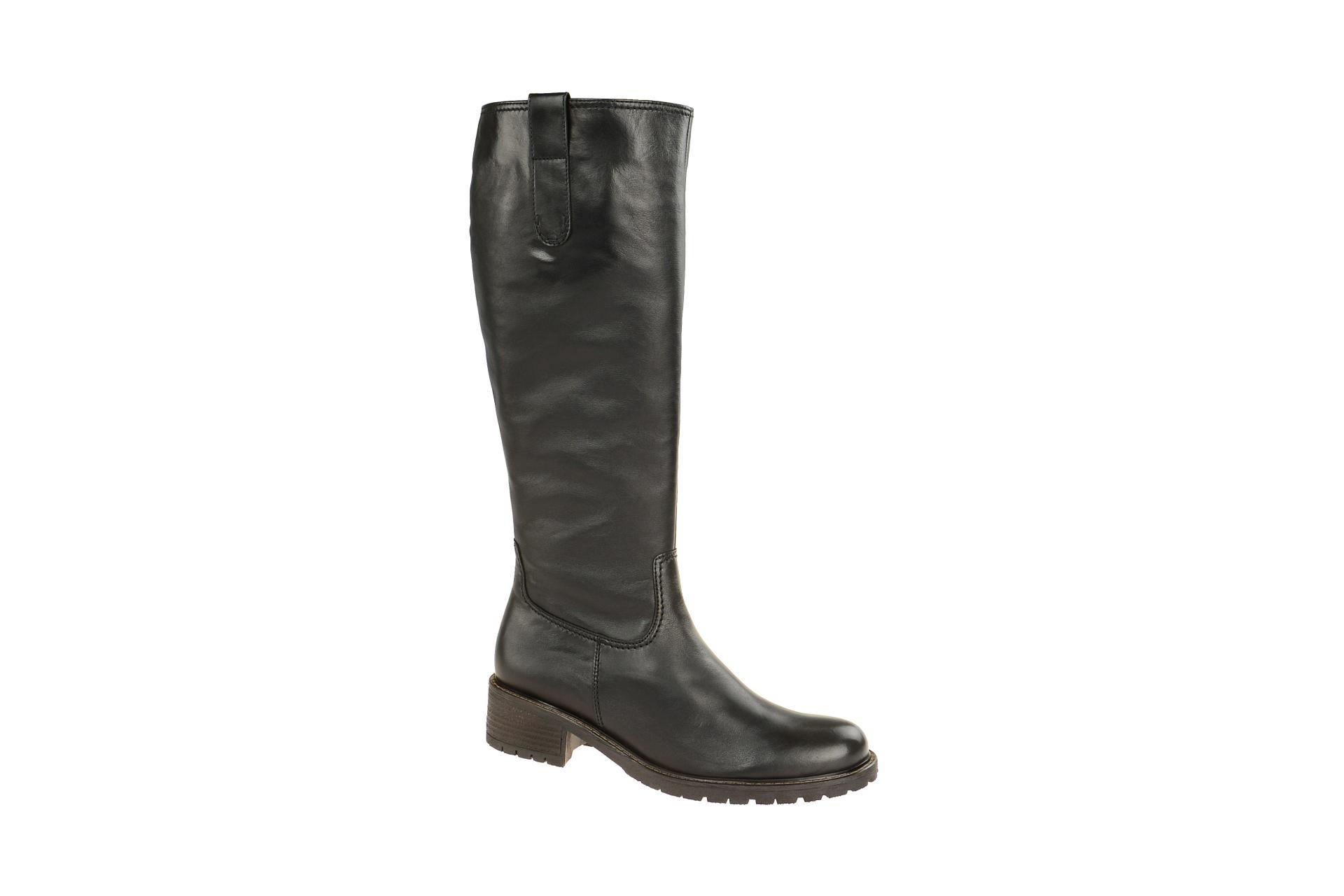 Gabor comfort Schaft Stiefel schwarz 96.097.57